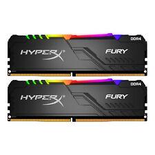 HYPERX 16GB Kit (2x8GB) DDR4 3200MHz Fury RGB Gaming RAM Arbeitsspeicher Memory