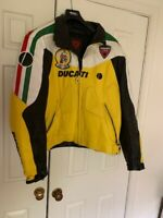 Ducati motorcycle leather jacket (60EU/50US) I wear size 44 and it fits perfect
