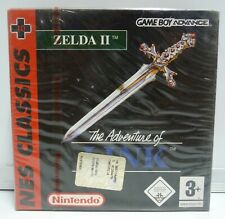 ZELDA 2 THE ADVENTURE OF LINK  NES CLASSICS NINTENDO GAME BOY ADVANCE NEW SEALED