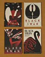 Black Swan - Set of Four Promotional Postcards - New & Sealed -  Studio La Boca