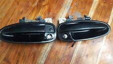 94-01 ACURA INTEGRA DRIVER/PASSENGER EXTERIOR DOOR HANDLES BLACK