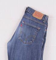 Vintage LEVI'S 506 Blue Straight Fit Men's Jeans W32 L32