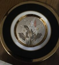 The Art of Choking 24K Gold Edged Plate, Made i Japan