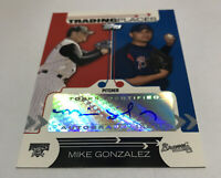 Mike Gonzalez Pirates Atlanta Braves 2007 Topps Trading Places Autographs TPR-MG