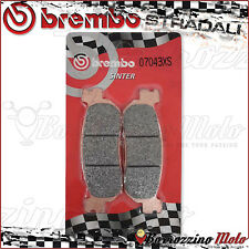 PLAQUETTES FREIN ARRIERE BREMBO FRITTE 07043XS YAMAHA X-CITY 250 2009