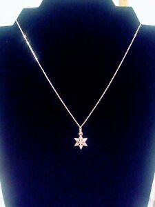 NWT Brighton SPARKLE SNOWFLAKE Christmas Silver Necklace