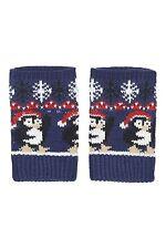 TOPSHOP Xmas Girls Ladies Penguin Christmas Handwarmers Gloves Mittens FREE P&P