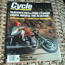 Cycle January 1978 Suzuki RM250 BMW R80/7 Yamaha XS 11 Aspencade Ascot Races