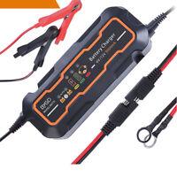 Chargeur de batterie voiture et moto Intelligent Rapide Auto/Moto 6v/12v 5000mA