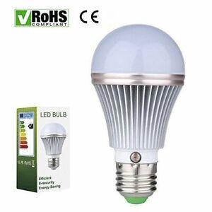 7W E27 Dusk to Dawn Auto Sensor Light Bulb Sensor LED Lamp Auto Lamp Bulbs