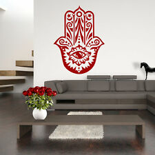 Wandtattoo Hamsa - Hand der Fatima  Wandsticker Poster Wandaufkleber Wandbild