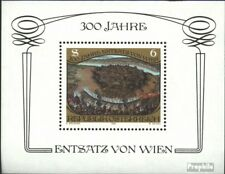 Austria block6 (complete issue) used 1983 Relief of Vienna