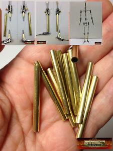"M01129 MOREZMORE HPA 10 CUT 40mm Brass Round Tube 5/32"" #8128 Leg Module K&S"