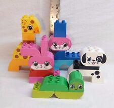 LEGO DUPLO Creative Animals Playset 10573 Worm Giraffe Bunny Dog