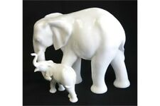 ROYAL DOULTON IMAGES - MOTHERHOOD ELEPHANT FIGURINE (lucky Symbol)