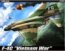 Academy 1/48 #12294  F-4C Vietnam War With Free Shipping + Free Gifts