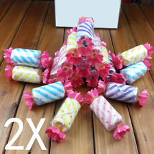 2pcs Cute Cotton Scarf Candy Towel Wedding Favors Personalized Kids Gifts