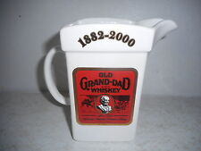 Wade Old Grand-Dad Whiskey Pitcher - IAJBBSC 2000 - 1 of 550 - White