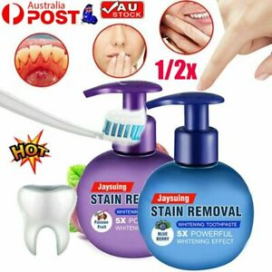 Instant Clean Intensive Stain Removal Whitening Toothpaste Fight Bleeding Gums~K