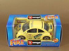 [PL3-7] BBURAGO BURAGO 1/43 STREET FIRE #41501 VOLKSWAGEN NEW BEETLE CUP NIB