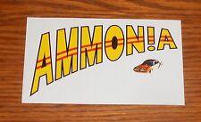 Ammonia Sticker Rectangle Promo 2.5x4.5 Fuzzswirl Allan Balmont Rare