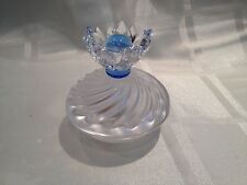 SWAROVSKI BLUE FLOWER JEWEL BOX 7464 000 001 MINT BOXED RETIRED RARE