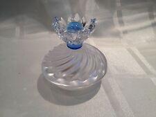 SWAROVSKI BLUE FLOWER JEWEL BOX 7464 000 001 MINT BOXED RETIRED RARE