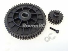 Rovan Steel 19/55 Tooth High Speed Spur Gear Set, HPI Baja 5B 5T 5SC King Motor