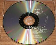 Japanese PROMO ONLY David Sylvian CD Blemish PVCP-8775 Japan OTHER DS in stock!
