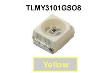 1500 Piece Reel of VISHAY TEMIC TLMY3101-GS08, YELLOW,  PLCC-2 SMD LED Backlight