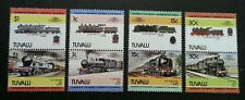 Tuvalu Locomotive 1984 Train Railway Transport Vehicle Classic (stamp) MNH