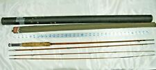 South Bend Bamboo Fly Rod 9 3pc W/Ex Tip & Tube