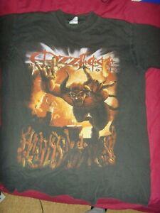 Ozzfest 2002 T-Shirt Medium Size Rare Shirt Excellent condition