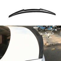 Carbon Fiber Rear Trunk Boot Spoiler For Audi A4 S4 B9 Saloon 2015-IN