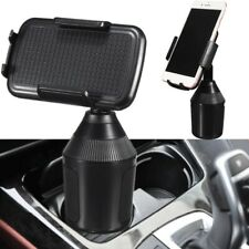 Adjustable 360 Degree Car Cup Holder Cradle Mount Stand For iPhone Phone Samsung