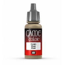 Vallejo Game Color: Khaki - VAL72061 Acrylic Model Paint 17mm Bottle