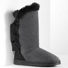Simply Vera Vera Wang Faux-Fur Boot Slippers