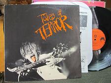 Tales of Terror 1984 C.D. Presents LP skate Punk fang code of honor w/insrt RARE