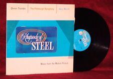 OST LP RHAPSODY OF STEEL DIMITRI TIOMKIN GARY MERRILL 1958  US STEEL