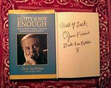 """Dick Van Patton"" (deceased!) signed book!""Eight Is Not Enough"" unpersonalized!"