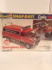 1981 Revell Snap Kit / Code Red Emergency Van / TV Show / 1/32 Scale Model Kit