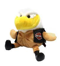 Harley Davidson Motorcycle Biker Club Baby Bald Eagle Rider Black Boots Vest USA