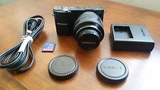 Samsung NX1000 20.3MP Mirrorless Digital Camera w/ 20-50mm Lens & Wi-Fi - Black