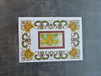 1998 GRENADA FLOWERS OF THE WORLD ORCHID STAMP MINI SHEET MNH #2
