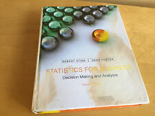 Statistics for Business- Decision Making and Analysis (2nd Edition)