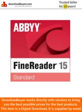 ABBYY FineReader 15 Standard - [Download]