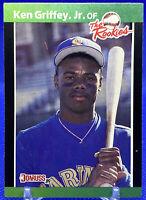 1989 Donruss Ken Griffey Jr. The Rookies RC #3 Mariners 🔥🔥📈📈