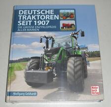Bildband Deutsche Traktoren seit 1907 - Die große Enzyklopädie aller Marken
