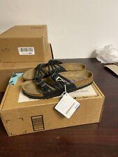 Birkenstoxk Black Sandal Size 39 Eu N 254