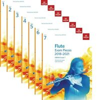 ABRSM Flute Exam Pieces 2018-2021 with Piano Score Options Grade 1,2,3,4,5,6,7